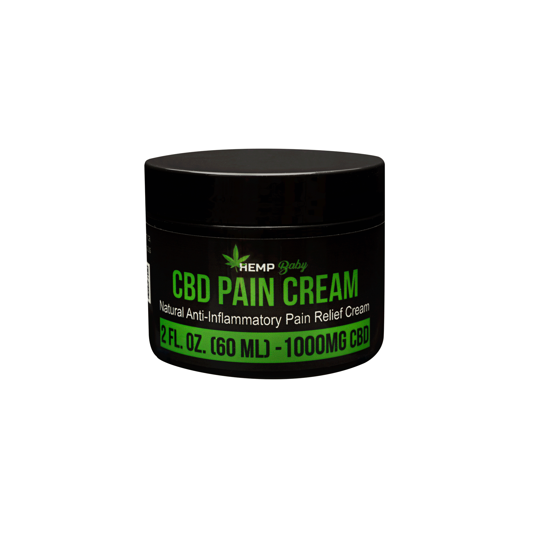 CBD Pain Cream 1000mg - HempBaby