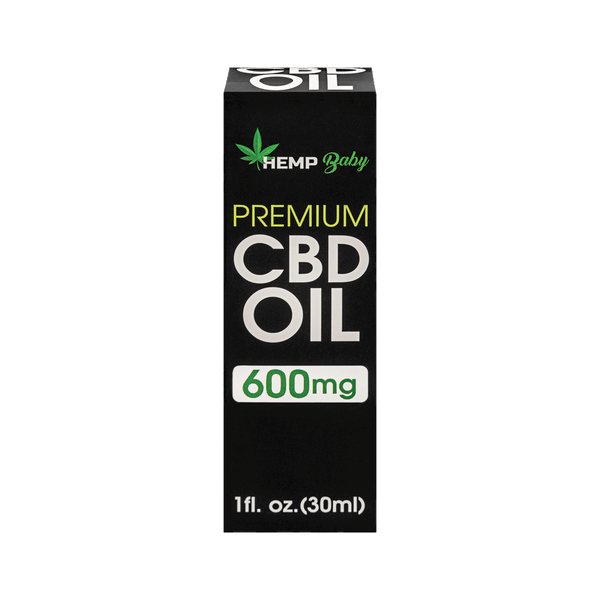 CBD Oil 600mg - HempBaby