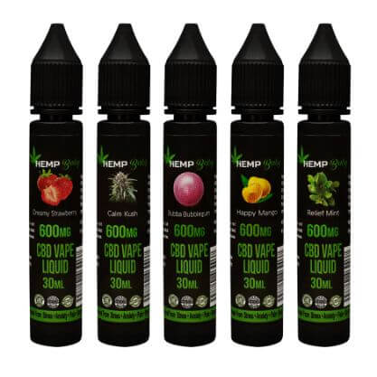 CBD E-liquid 600mg - HempBaby
