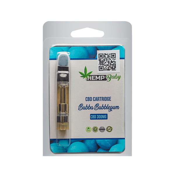 Bubba Bubblegum CBD Pre Filled Cartridges 300mg - HempBaby