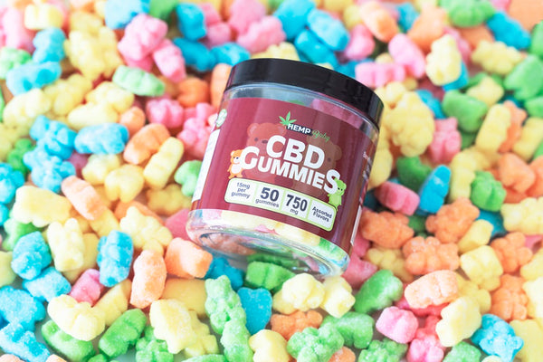 CBD Original Gummies 50ct - HempBaby