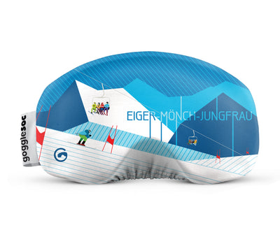 eiger monch jungfrau gogglesoc front view