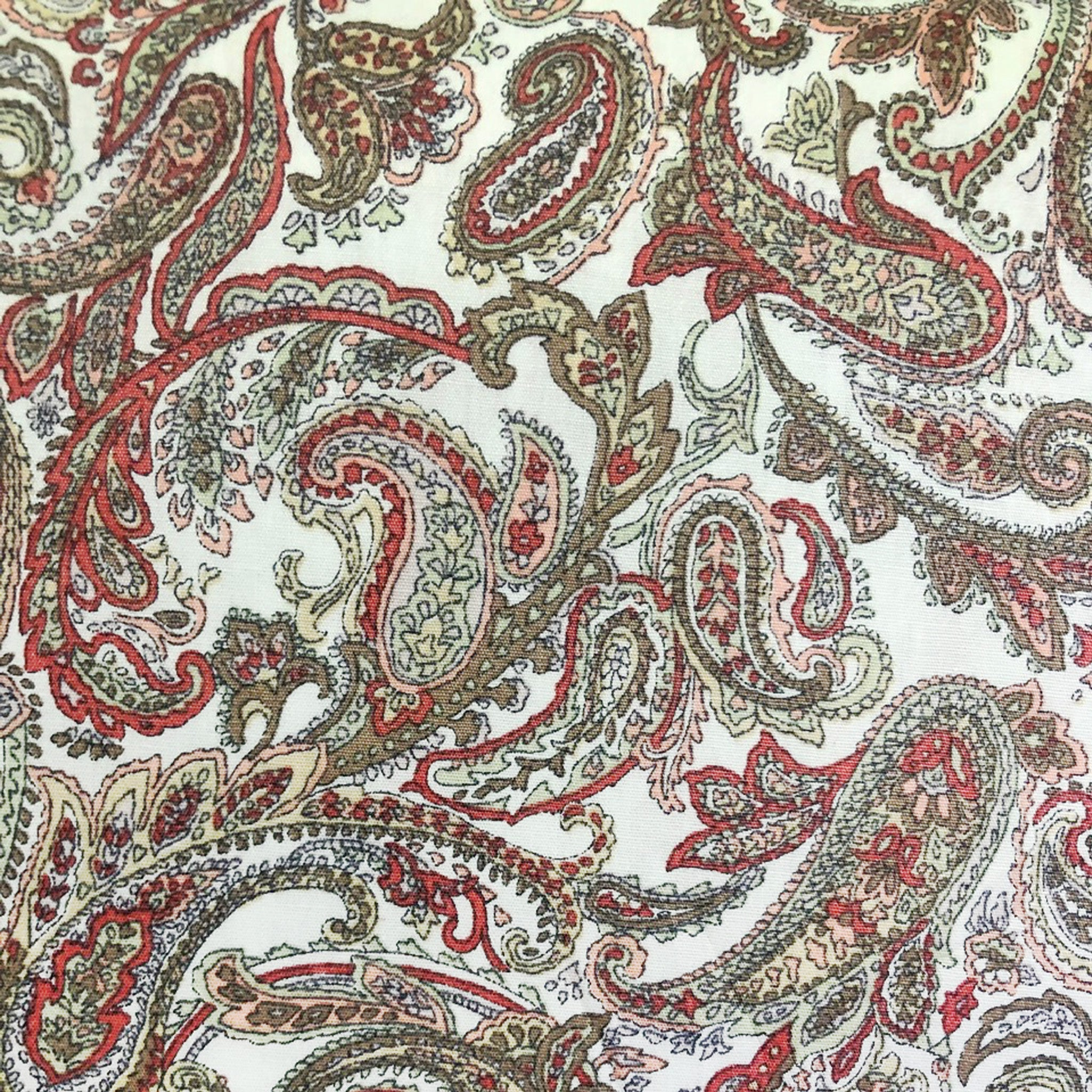 Original Mask - Paisley Red - Color Swatch