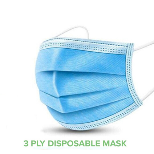 High quality(type IIR) disposable masks Pack of 50