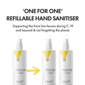 REFILLABLE Hand Sanitiser 250ml