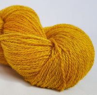 Aur hand dyed Welsh 4ply yarn, Welsh Mule and Welsh Bluefaced Leicester