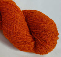 Fflâm hand dyed Welsh 4ply yarn, Welsh Mule and Welsh Bluefaced Leicester