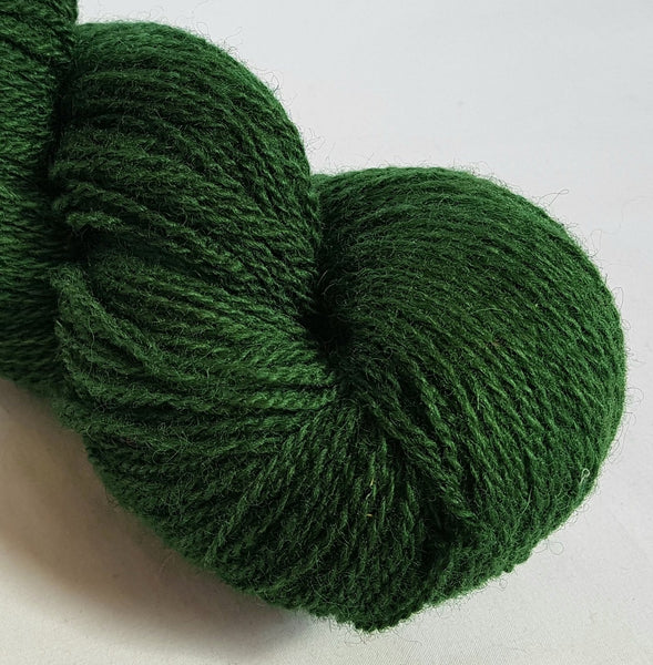Fforest hand dyed Welsh 4ply yarn, Welsh Mule and Welsh Bluefaced Leicester