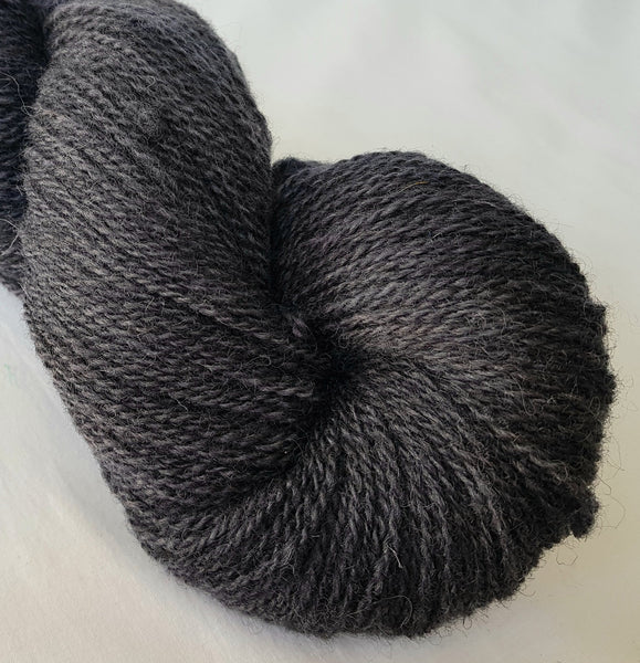 Glo hand dyed Welsh 4ply yarn, Welsh Mule and Welsh Bluefaced Leicester