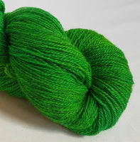 Gwanwyn hand dyed Welsh 4ply yarn, Welsh Mule and Welsh Bluefaced Leicester