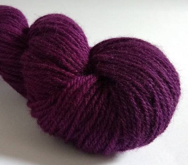 Coron hand dyed Welsh DK yarn, Welsh Mule and Welsh Bluefaced Leicester