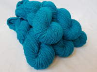Mynydd Iâ hand dyed Welsh DK yarn, Welsh Mule and Welsh Bluefaced Leicester
