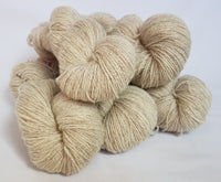 Naturiol undyed Welsh 4ply yarn, Welsh Mule and Welsh Bluefaced Leicester