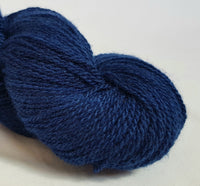 Saffir hand dyed Welsh 4ply yarn, Welsh Mule and Welsh Bluefaced Leicester