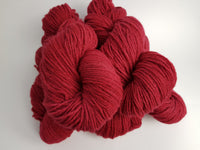 Draig hand dyed Welsh DK yarn, Welsh Mule and Welsh Bluefaced Leicester