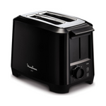 Moulinex LT140827 2-Slice Toaster Black