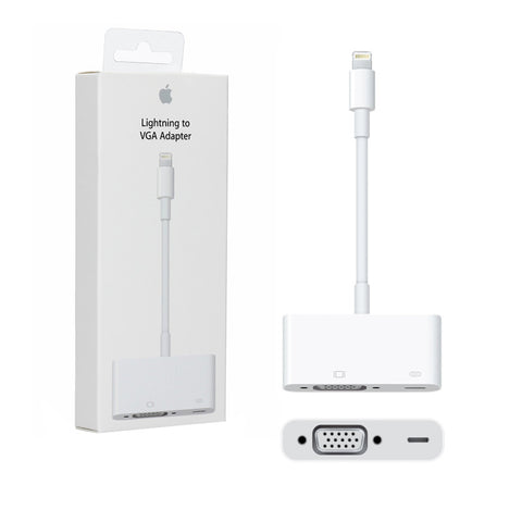 Apple MD825ZM/A Lightning to VGA Adapter