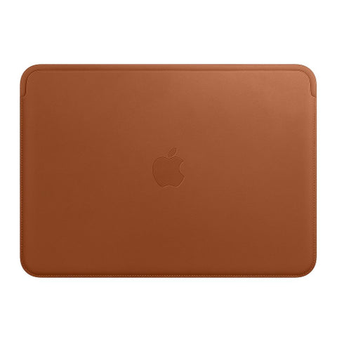 Apple MQG12ZM/A Leather Sleeve for 12‑inch MacBook - Saddle Brown
