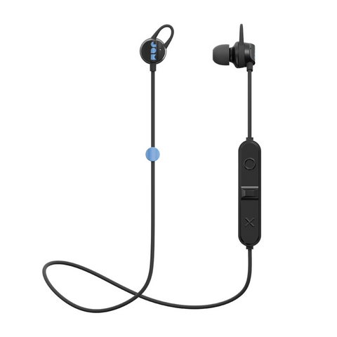 Jam Live Loose HX-EP202BK Wireless Bluetooth Waterproof Headphones, Black