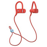Jam Live Fast HX-EP404 Wireless Bluetooth Earbuds, Red