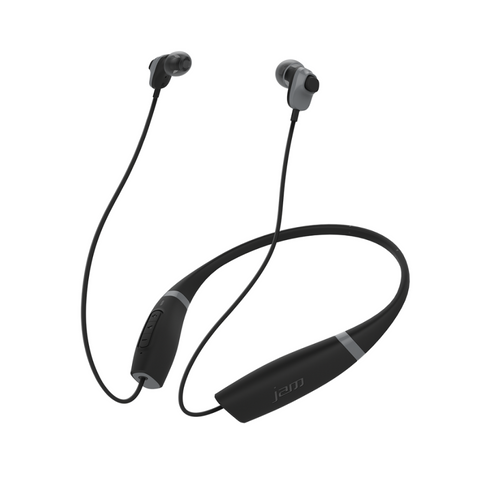 JAM Comfort Buds HX-EP700BK Collared Wireless Bluetooth® Earbuds, Black