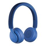 Jam Been There HX-HP202BL On-Ear Wireless Bluetooth Headphones, Blue