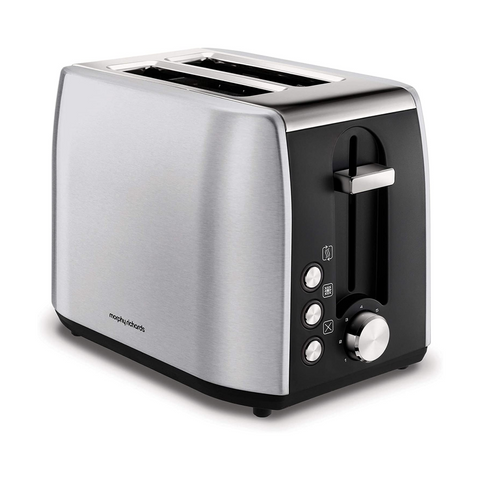 Morphy Richards 222057 Equip Brushed Stainless Steel  2-Slice Toaster