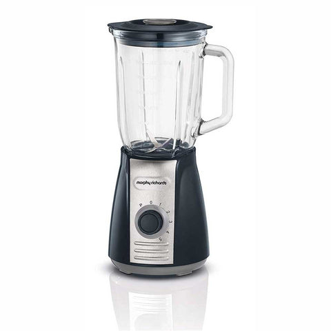 Morphy Richards 403010 Jug Blender with Ice Crusher Blades, 400 W, 1.5 liters, Grey