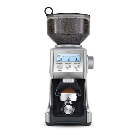 Sage BCG820BSSUK the Smart Grinder Pro Coffee Grinder, Silver