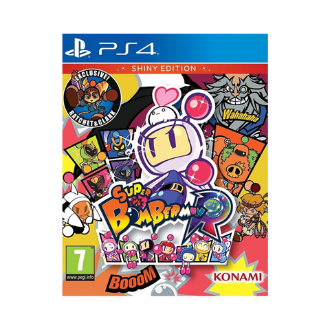 Super Bomberman R Shiny Edition - PS4