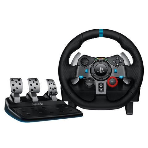 Logitech G29 Driving Force Racing Wheel and Floor Pedals for PS3, PS4, PC and MAC