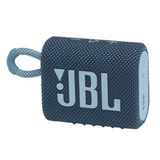 JBL GO 3 Portable Waterproof Wireless Bluetooth Speaker with Speakerphone, Blue