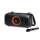 JBL PartyBox On-The-Go Portable Party Speaker with Built-in Lights and Wireless Mic