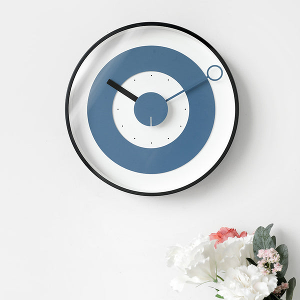 Creative fashion personality living room wall clock