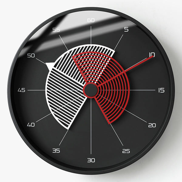 Modern Minimalist Creative Fashion American Bell Wall Clock