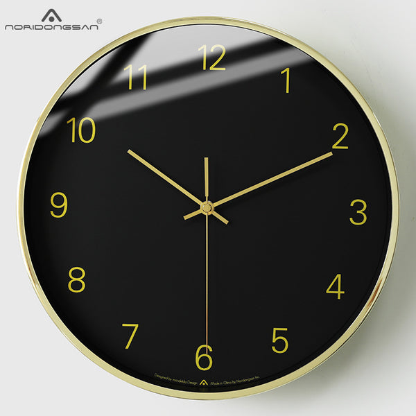 Nordic Light Luxury Modern Creative Wall Clock
