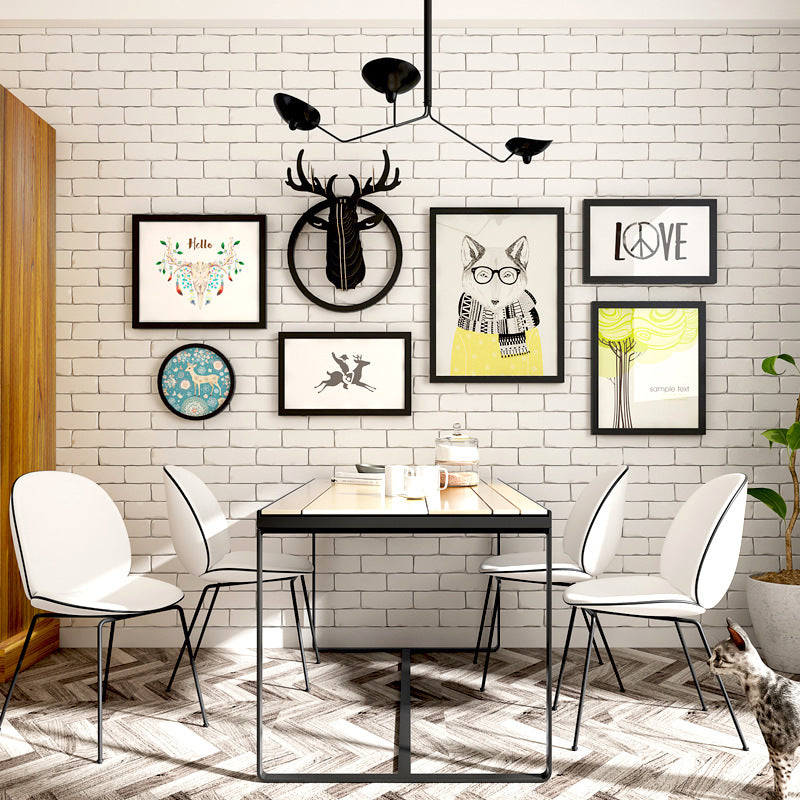 Modern Nordic Decorative Painting Photo Frame Set