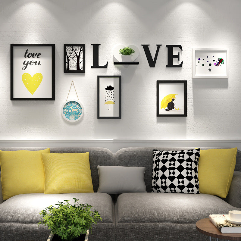 Modern Wall Photo Frame Dining Room Living Room Wall Decoration