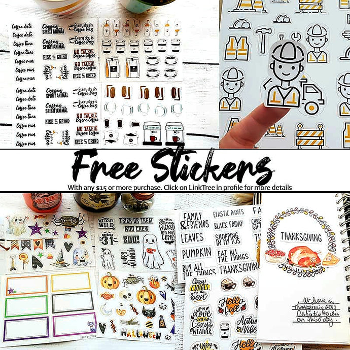 Free Stickers!