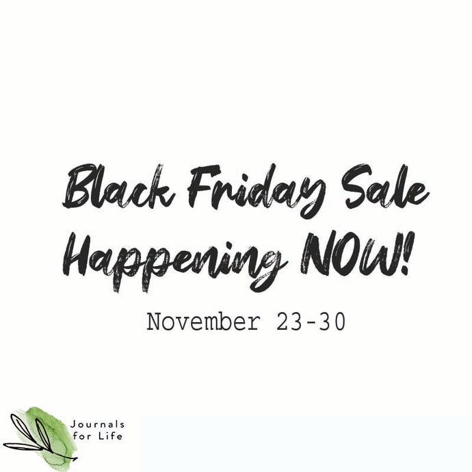 Black Friday Sale Starts Now!  November 23-30, 2020