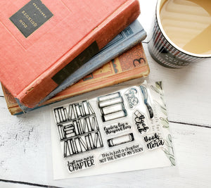 Book Club 4x6 Stamp Set