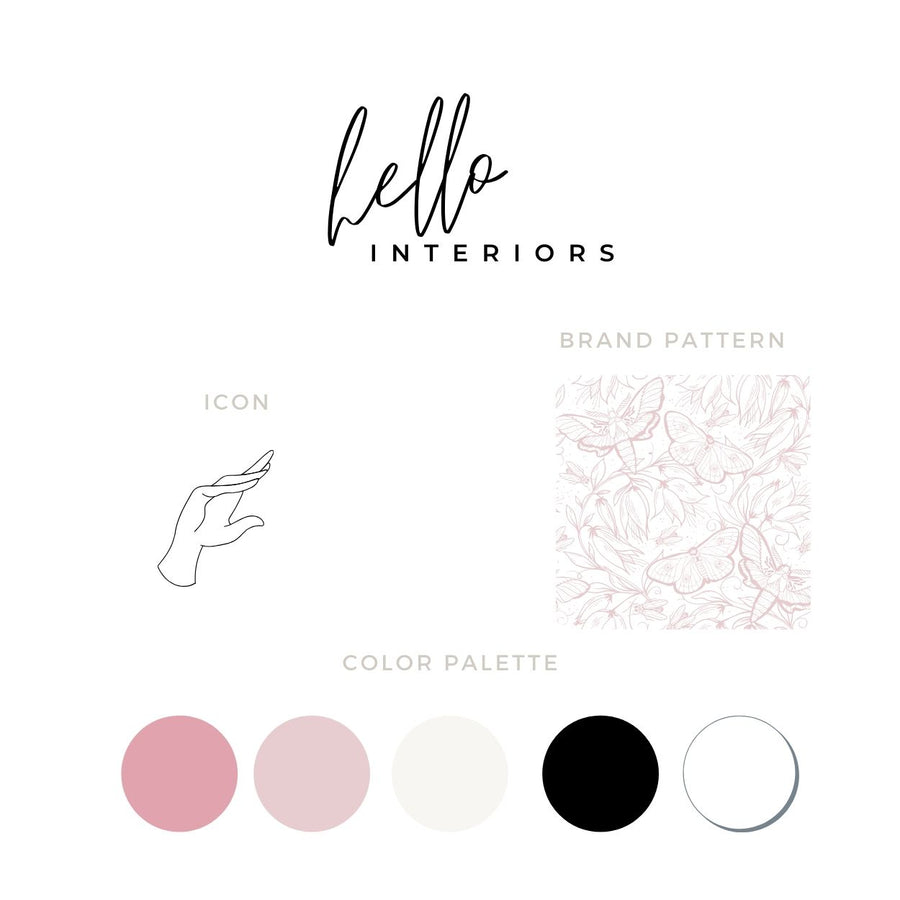 Hello Brand Box | Customizable Canva Template