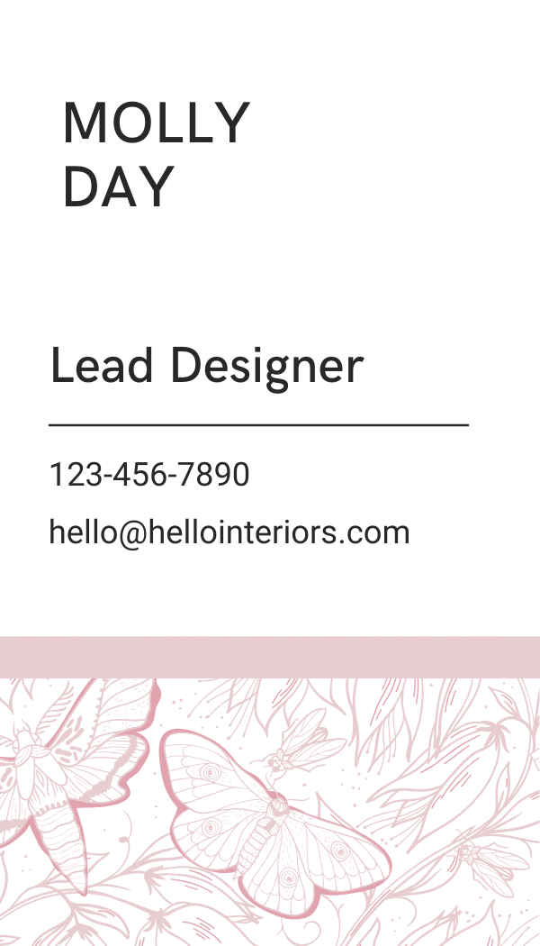 Hello Business Cards | Customizable Canva Template