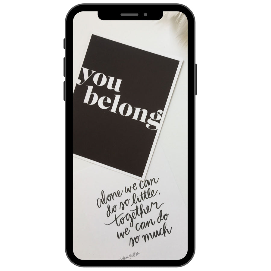Brand Photography | You Belong Print