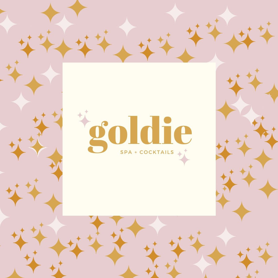 Goldie Brand Box | Customizable Canva Template