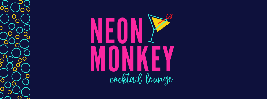 Neon Monkey Social Media Pack | Customizable Canva Template