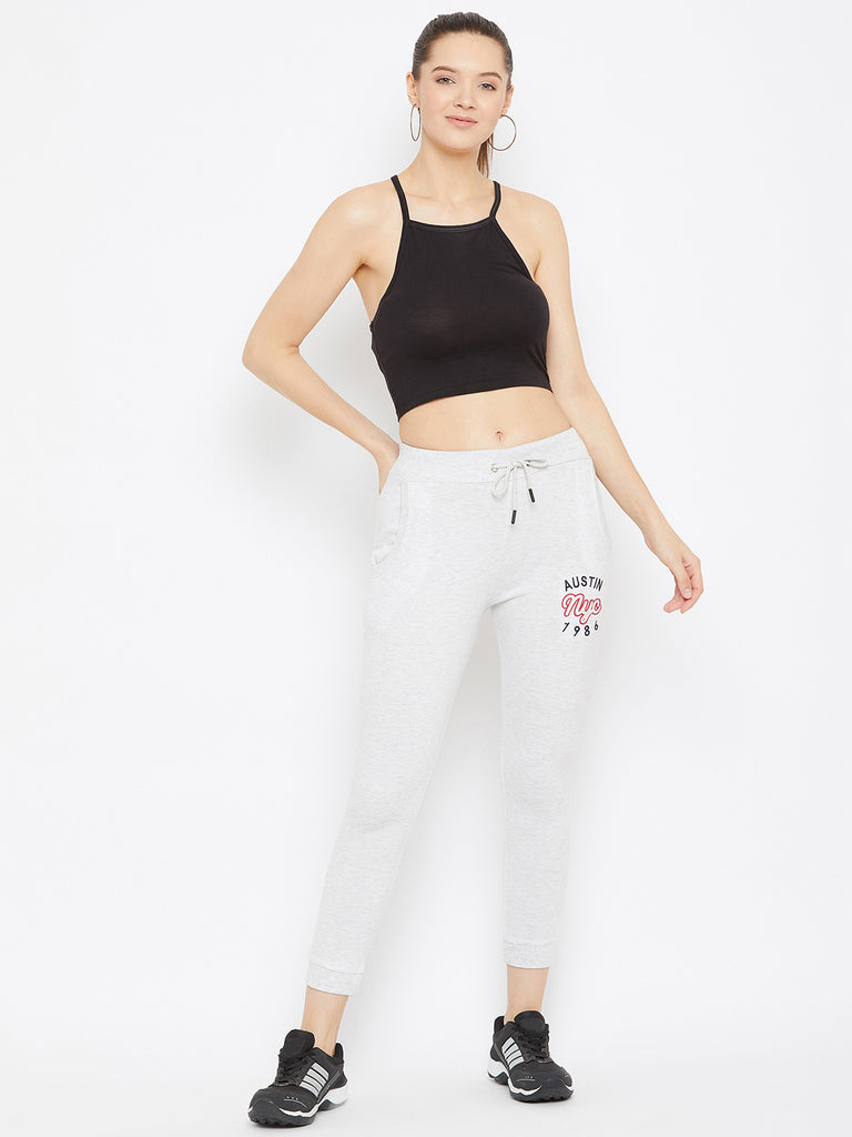 Austin Wood Women's Light Grey Track Pant