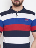 Multi Stripers Polo T-shirt