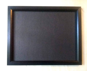 Custom Poker Chip Frame Display Insert Fits 36 Harley-Davidson or Casino chips 11x14 birch chip holder with middle cut-out for photo or patch
