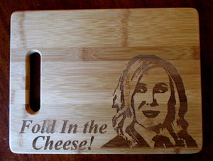 Custom Cutting Board Schitt's Creek Bamboo cheese board gift for couples Wedding Gift Christmas Small/Large engraved board Moira Rose